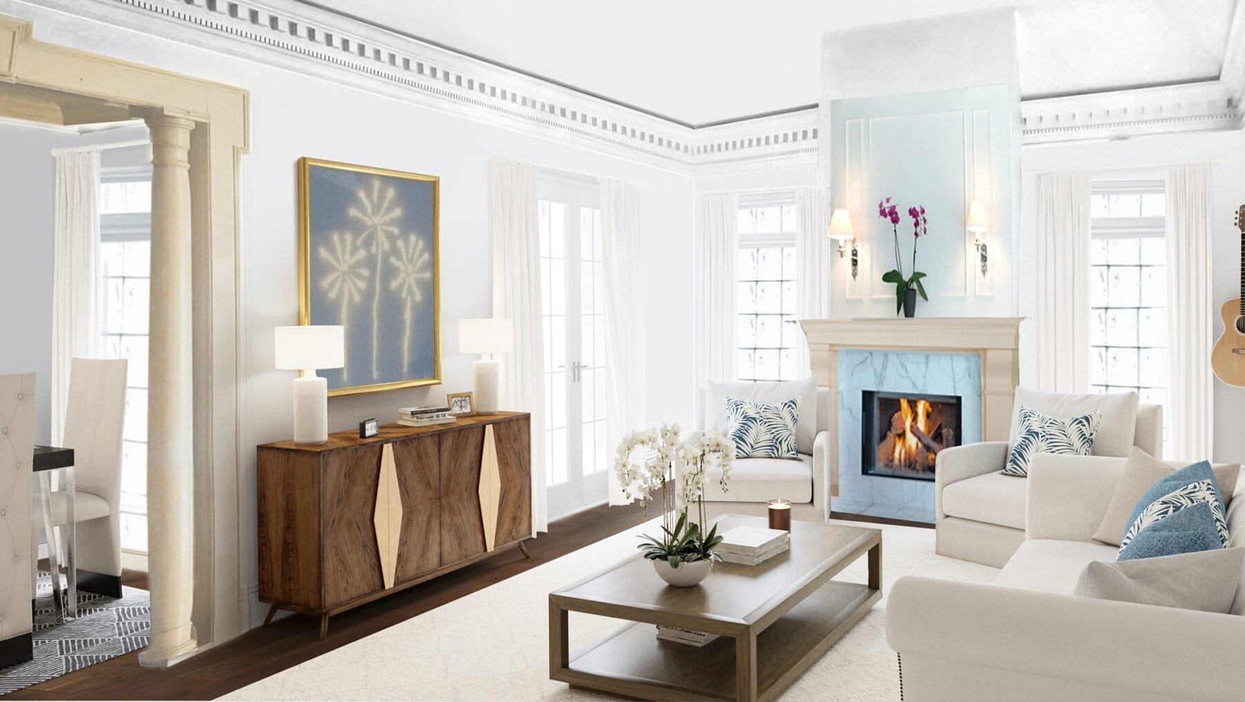 Virtual Staging Example Homepage